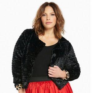 Torrid | Cropped Faux Fur Jacket